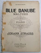 Blue Danube 1924 Johann Straus F Henri Kilickman SheetNoteMusic.com