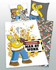 Herding Wendebettwäsche Bettwäsche 135x200 Simpsons incl. Aufbewahrungsbeutel