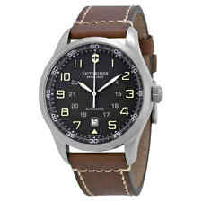 Victorinox Swiss Army AirBoss Automatic Black Dial Men's Watch 241507