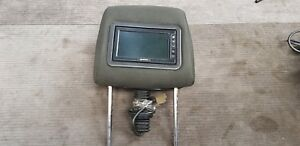 Toyota Corolla Verso 2004 Headrest with built in dvd player LEFT and RIGHT PAIR