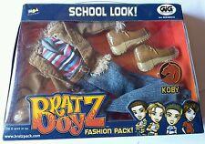 Bratz Boy Koby Fashion Pack School Look GIG Blister Doll Abito Raro Style Unico