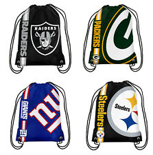 NFL Football Drawstring Backpack - Pick Your Team