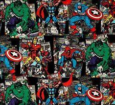 Cuarto gordo Marvel Personaje De Costura Algodón Tela Acolchar Vintage