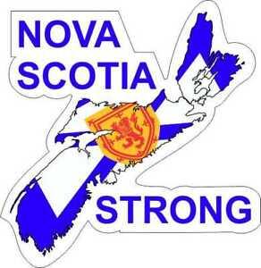 Nova Scotia Strong Decal / Sticker