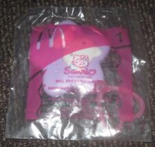 2002 Hello Kitty McDonalds Happy Meal Toy - Nail Sticker Dispenser #1