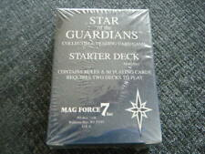 Mag Force 7 Star of the Guardians Starter Deck CCG 60 COLLECTIBLE CARDS & RULES!