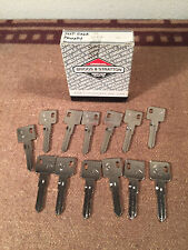 lot of 13 NOS Jeep Eagle Logo Key Blanks briggs stratton USA 321802