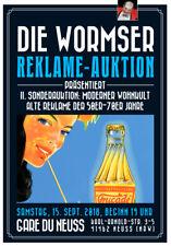 """Wormser Reklame - Auktion 2. Sonderauktion """"Reklame der 50er - 70er Jahre"""""""