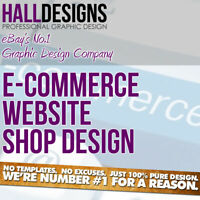 Website Design - E-commerce & Free Domain, Free SSL & SEO - Full Package