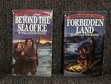 Los primeros americanos 2x Libro Lote #1 #3 William Sarabande más allá del mar de hielo del libro en rústica