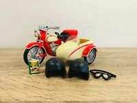 Sylvanian Families Motorcycle & Side Car Set Motorbike 2010