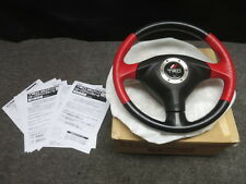 JDM Genuine JZA80 Supra Turbo TRD SRS Leather Steering Wheel MR2 Celica ~RARE~