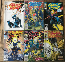 Ghost Rider Comic Book Lot Of 6 1991-1993 Marvel Comics Condition Shown In Photo