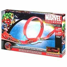Spider-Man Marvel Universe: Single-Loop Track  Die Cast Collection Car Toy Set