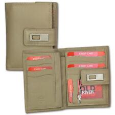 Portefeuille en Cuir Braun XL Portefeuille Porte-Monnaie OPD701C [ Old River ]