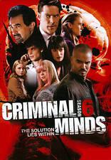 Criminal Minds: Season 6 [6 Discs] DVD Region 1 FREE SHIPPING!
