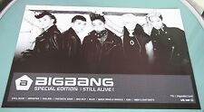 Big Bang - Still Alive Special Edition / OFFICIAL POSTER *HARD TUBE CASE*