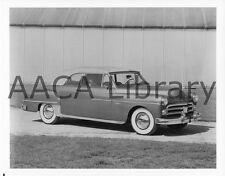 1950 Dodge D34 Coronet Convertible Coupe, Factory Photo (Ref. # 38644)