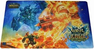 WOW WARCRAFT TCG : WAR OF THE ELEMENTS EPIC COLLECTION PLAYMAT NEW
