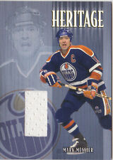 01-02 BAP Update Mark Messier /90 Heritage Jersey Be A Player