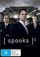 Spooks - season 6 (5-DISC SET) - DVDS LIKE NEW FREE POST AUSTRALIA REGION 4