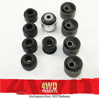 Suspension Arm Bush kit (Front) w/Castor Bushes - Patrol GU Wagon (02/00-17)