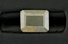 ONE 10.5x8.5 10.5mm x 8.5mm Faceted Natural Pyrite Emerald  Gem Gemstone ebs5975