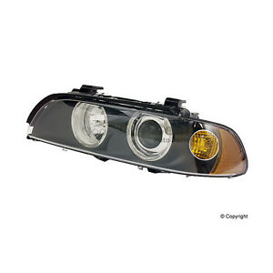 One New Hella Headlight Assembly Front Left H11053011 63126900199 for BMW