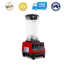 Food Processor & Blender 2-in-1 2L Commercial Food Ice Bart Mixer Equipment Red