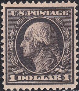 USA Scott #342 $1 Washington/Franklin Mint XF OG VVLH GEM Weiss Cert