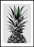 Pineapple, Print Poster, Minimalist Wall Art, Motivational Quotes