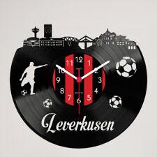 Leverkusen Fan Schallplattenuhr