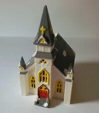 Yuletide Snow Hamlet Vintage Christmas Village 715 Indian Worship Church 1986