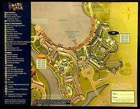 NEW 2020 Walt Disney World Boardwalk Resort Map +7 Theme Park Guide Maps !!!!!