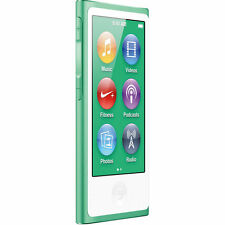 Official Apple iPod Nano 7th Gen Green *VGWC*+Warranty!!