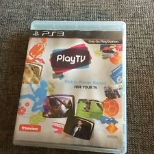PS3 PLAYSTATION PLAYTV PLUS MANUAL