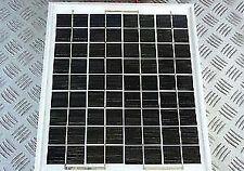 Panel Solar De 10W 12V Alta Potencia Cebo Barco Diodo De Cable Cargador 10 vatios