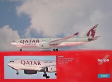 Herpa Wings 1:500 Airbus A330-200F Qatar Cargo A7-AFY 529884 Modellairport500