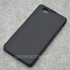 New Black TPU Matte Gel skin Case Cover For Sony Xperia Z1mini Z1 Compact D5503