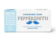 100% Xylitol Spearmint Chewing Gum - 15g - Pack of  12