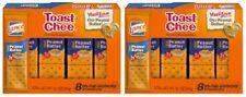 Lance Toast Chee Peanut Butter Sandwich Crackers 2 Box Pack
