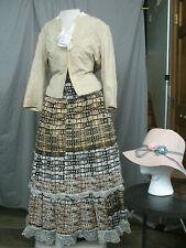Civil War Dress Women's Victorian Costume Edwardian Reenactment