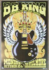 2007 B. B. King - San Francisco Fillmore Concert Poster S/N by Alan Forbes
