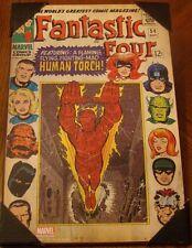 Fantastic Four #54 Marvel Comics Wall Art 13'' x 19'' featuring Human Tourch