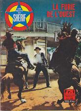 C1 WESTERN Recits Sherif 1967 LA FURIE DE L OUEST Sam Newfield