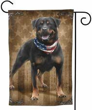 Garden Flag Outdoor Decorative Flags American Flag Vintage Rottweiler Cute Dog