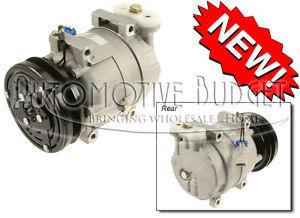 A/C Compressor w/Clutch Daewoo Lanos 1998-2002 - NEW