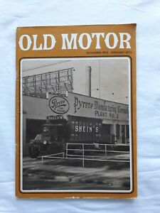 OLD MOTOR  NOVEMBER 1972 - FEBUARY 1973