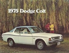 1975 Dodge Colt NOS Brochure GT/Carousel/Coupe/Sedan