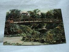 St. LOUIS MO Missouri Lafayette Park Bridge early 1900's Postcard